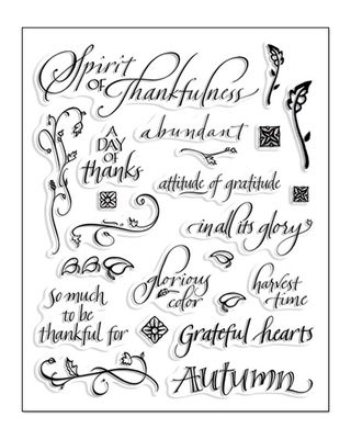 Thankful stamp set